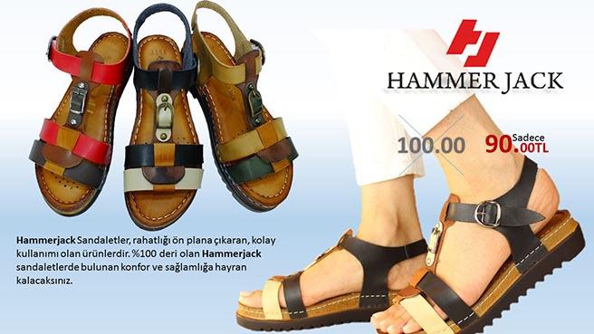 Hammerjack Bayan Sandalet 1154