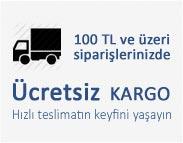 100 TL ve üzeri siparişlerinizde Ücretsiz Kargo imkanı